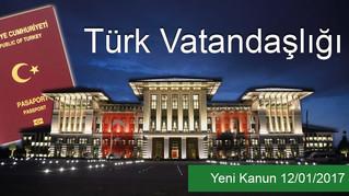 Yatırım Yapana Türk Vatandaşlığı!