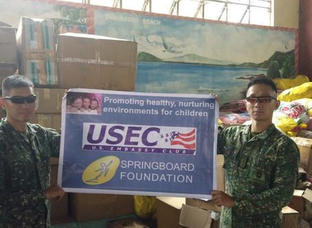 Relief Operation to Dinapigue Isabela, Cagayan