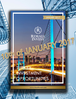 Turkey Investment Opportunities Journal - January