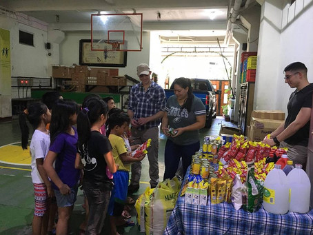 Food Drive for Friendship Home  Fr. Luis Amigó