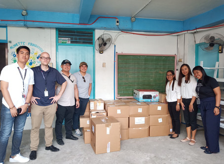 Donation Drop-off at Alouette Foundation of the Philippines, Inc.