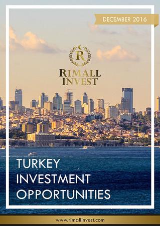 Turkey Investment Opportunities Journal - December