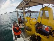 沖縄でも抜群の透明度の海