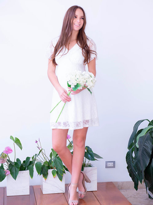 Vestido Wedding Hueso