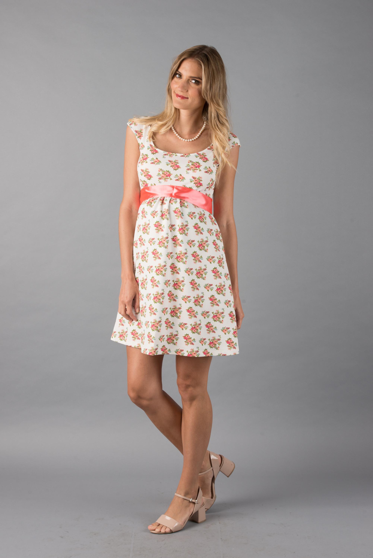 VEV Vestido Venecia Blanco florcitas 245