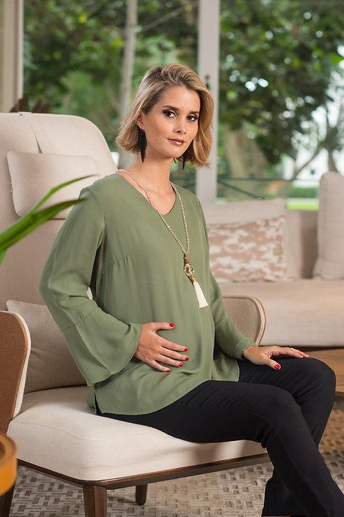 Blusa Elegant - Verde hoja