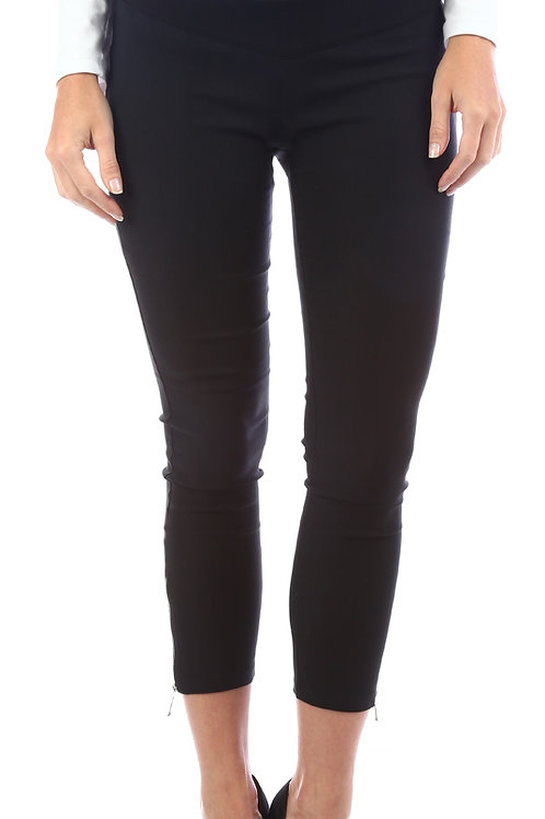 Pantalon 7/8 Cierre Negro