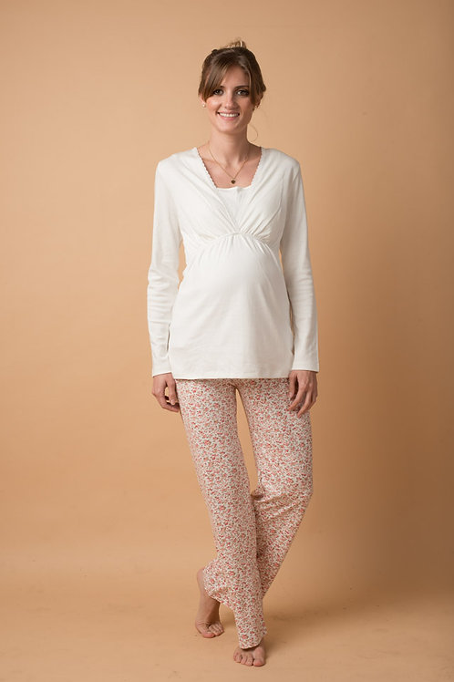 Pijama dos Piezas Rosa