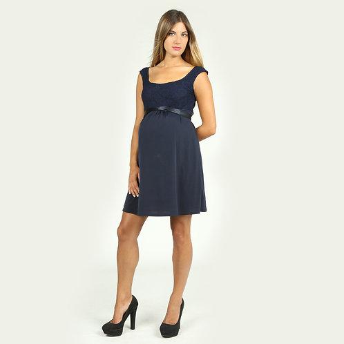 Vestido Encaje Venecia Azul