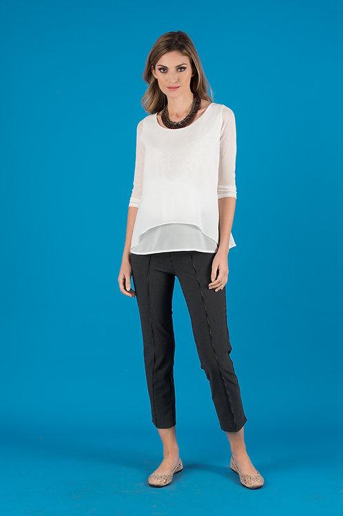 Pantalón Diseño - Negro Rayas