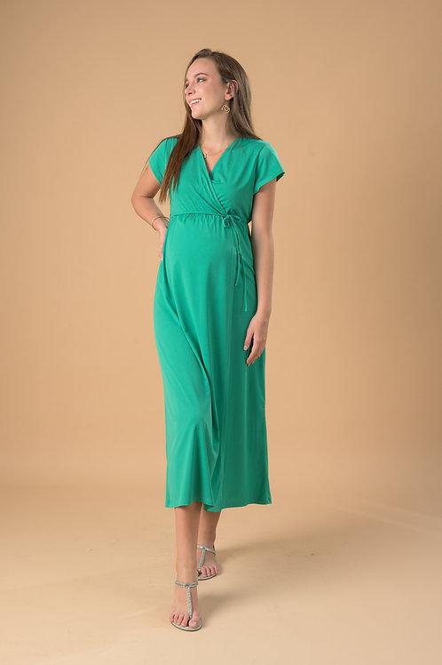 Vestido Lucía - Largo - Verde Venecia.