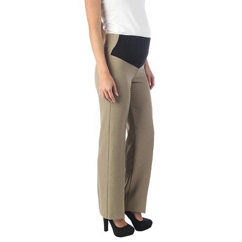 Pantalon de Vestir Mari F Camello
