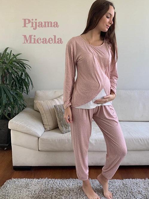 Pijama Micaela - Rosa