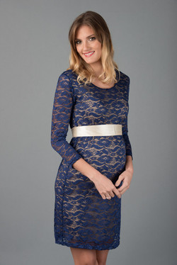 VETU-A Vestido Encaje Tubo Azul 245 (14)