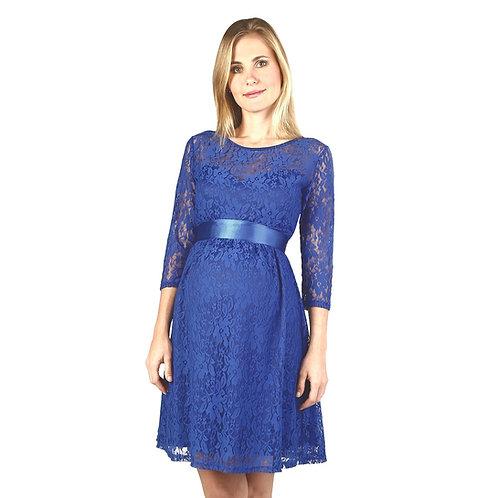 Vestido Encaje Corazón Azulino