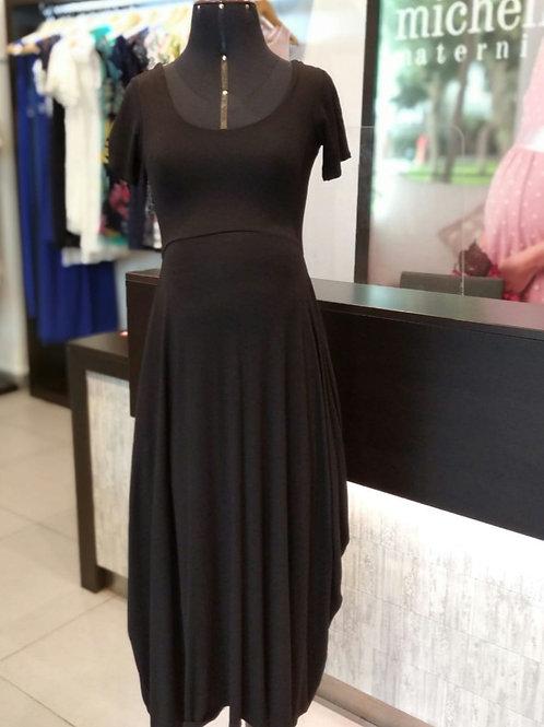 Vestido Algdón Casual Negro