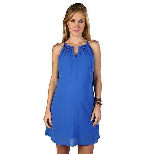 Vestido Mango Azulino