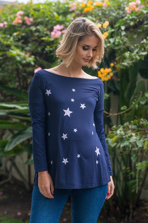 Polo Estrella Azul