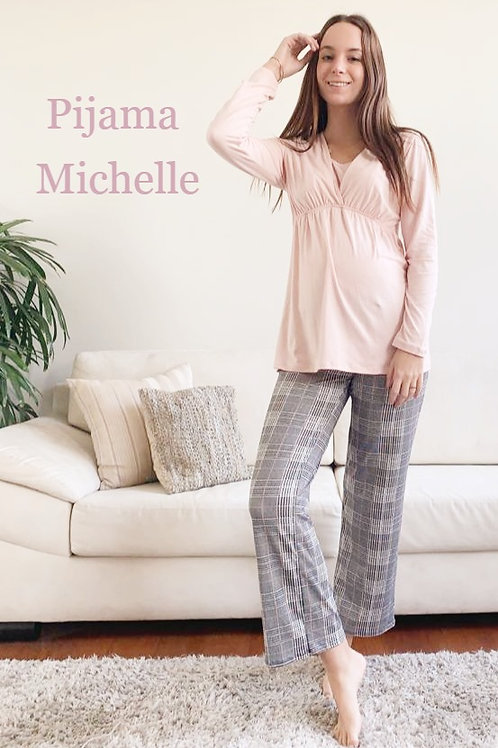 Pijama Michelle - Rosa