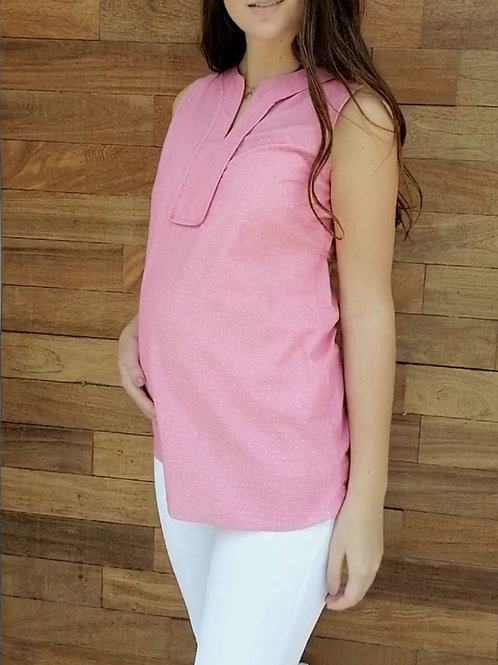 Blusa Belly - Rosa