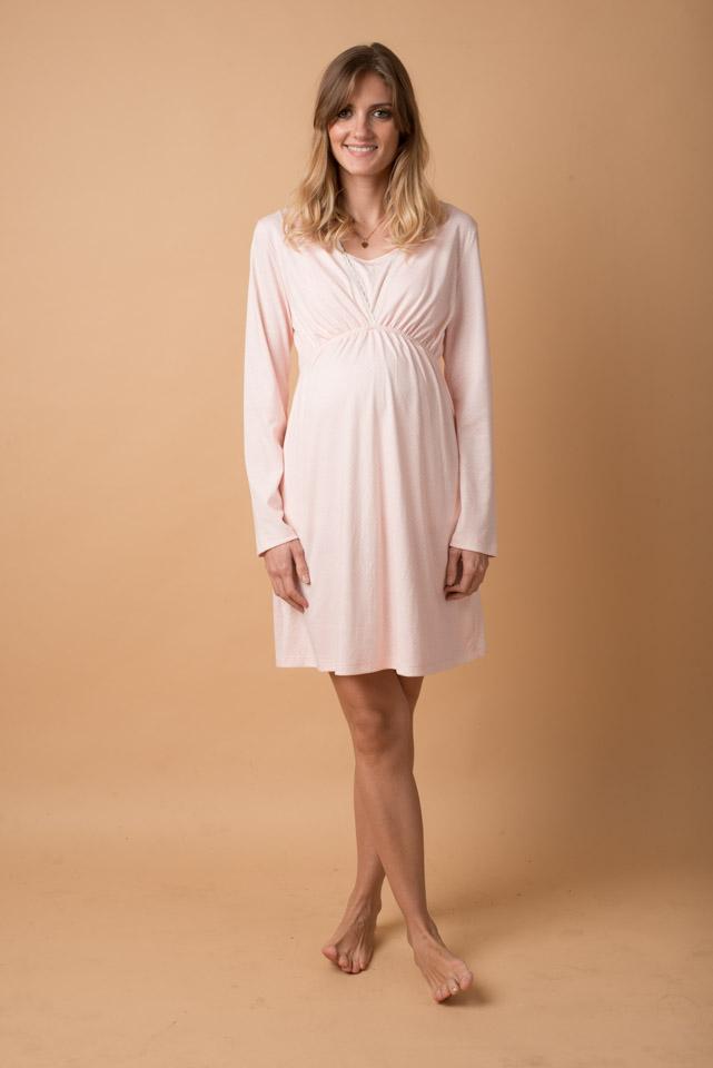 PJCM-R Pijama Camison Rosa 149