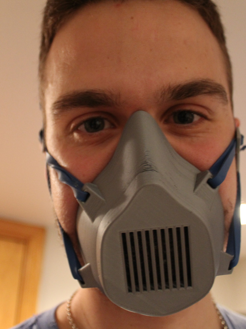 3D-Printed Respirator
