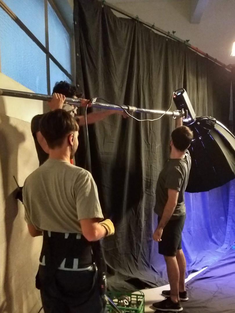 The Magic 5 - Camera Dept on Set
