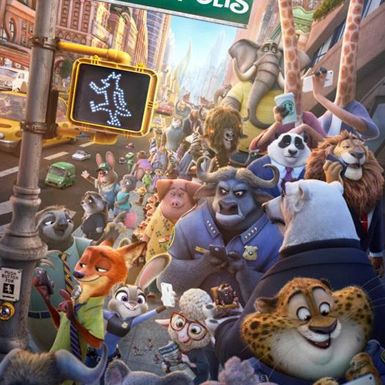 Zootropolis - 17:30 (PG) - Supporting RSPCA