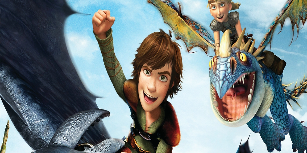 How to Train Your Dragon - 17:30 (PG)