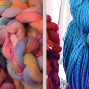 Workshop 3: Yarn Dyeing & Spinning
