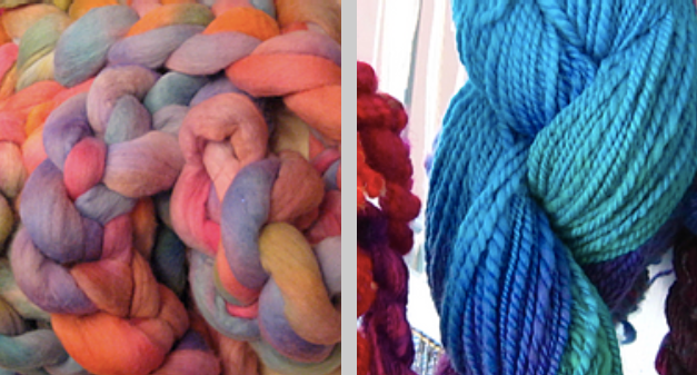 Workshop 3: Yarn Dyeing & Spinning