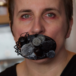 I'm Not Coping: I've Never Coped - Mourning Mouthbrooch.