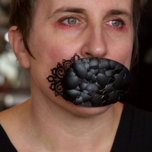 You Booby-Trapped My Life With Eggshells - Mourning Mouthbrooch.