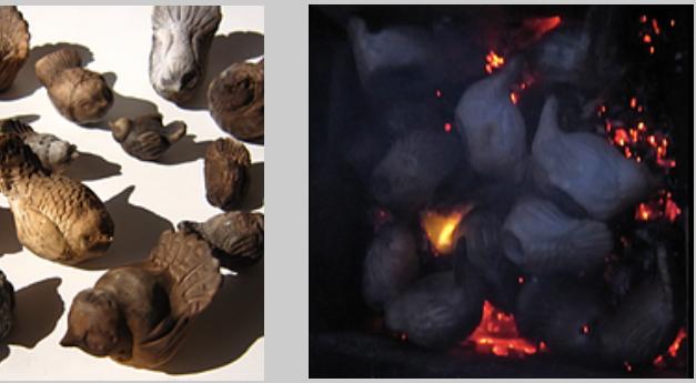 Workshop 4: Pitfiring Ceramic Birds