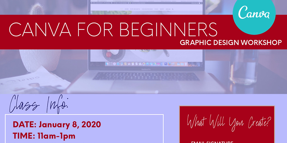 Canva For Beginners - Graphic Design Workshop
