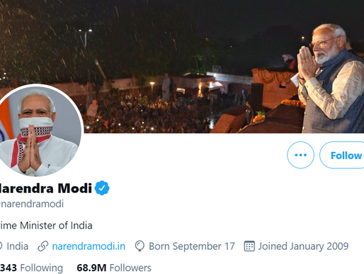 Top Indian political leaders who have the most followers on Twitter