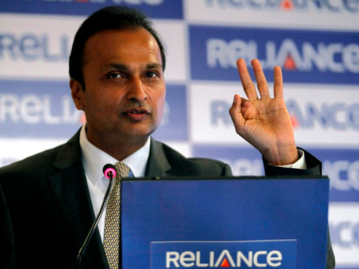 Increase In Anil Ambani Group Of Company's Shares & Decrease In Debt Attracts Investors