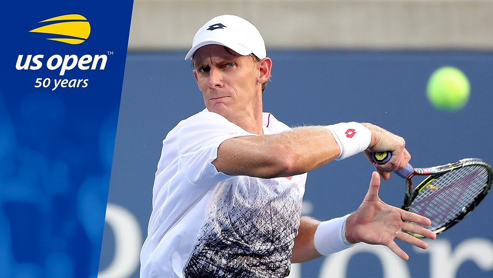 Kevin Anderson US Open 2018, 50 years anniversary, Brad Stine Tennis Coach