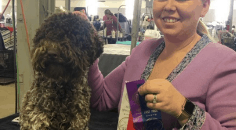 """AKC Major Ptd Two By Two Strawberry Fields Forever """"aka Berry"""""""