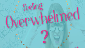 Feeling overwhelmed?  This is for you.  A practical post for helping you conquer overwhelm.