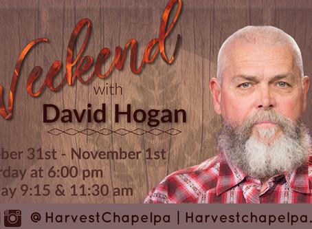 A Weekend with David Hogan