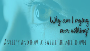 Why am I crying over a printer? Anxiety and how to battle the meltdown.