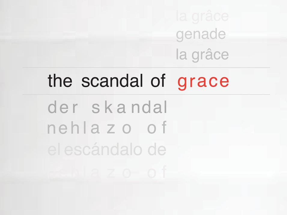Scandal of Grace poster