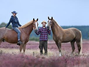 Lüneburger Heide - Shootings mit Pferden und Hunden