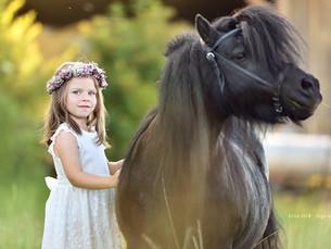 Kinder und Tiere :)