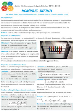 Ateler Mathématique