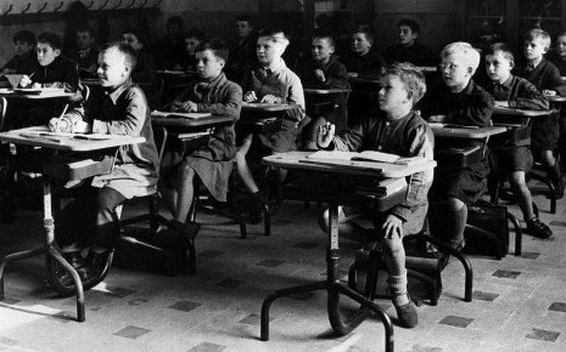 École primaire de garçons en 1951