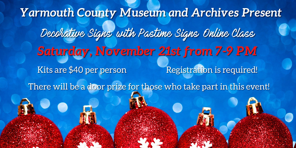 Decorative Signs with Pastime Signs Online Class