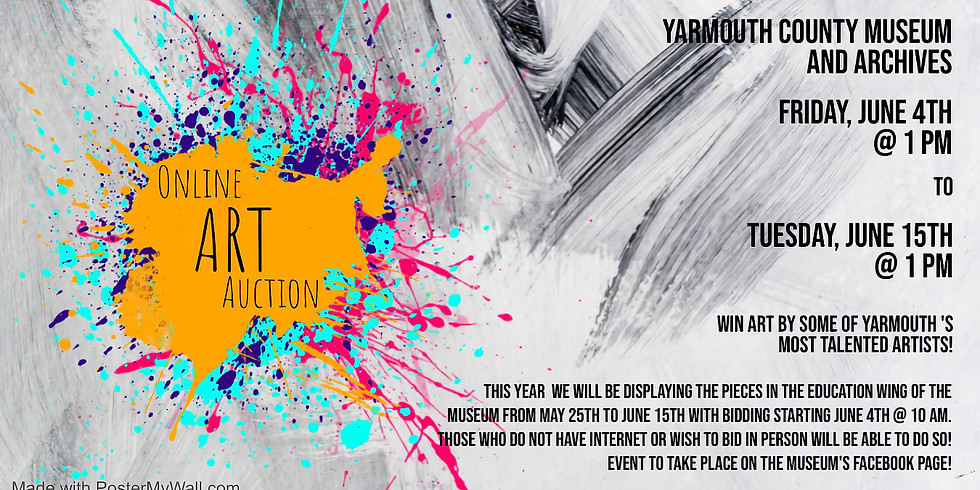 2nd Annual Online Art Auction