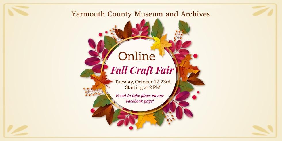 Fall Online Craft Fair
